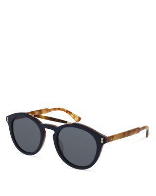 5b7a168b5 GUCCI Top Bar Keyhole Round Sunglasses, 50Mm. #gucci #50mm | Gucci ...