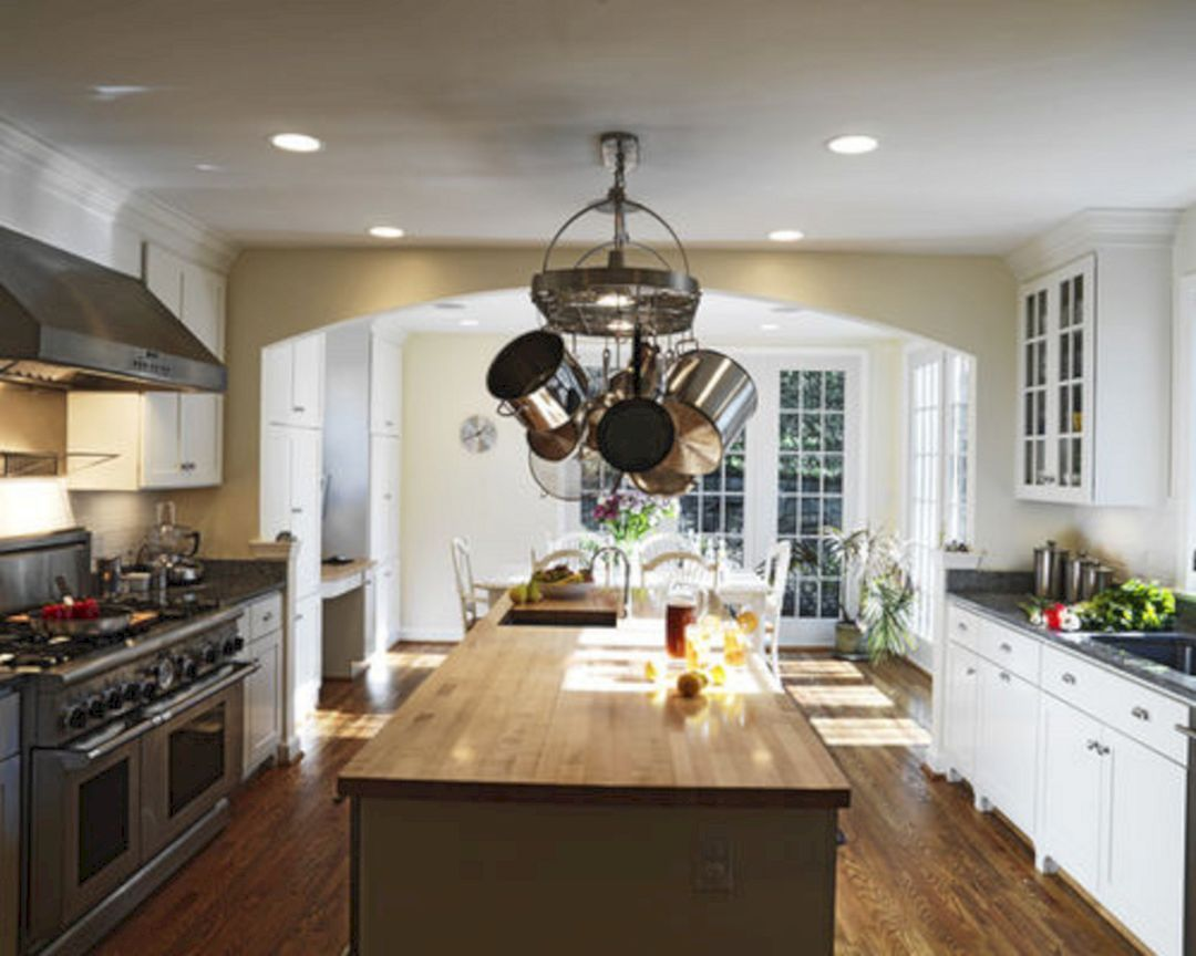 35 Marvelous Kitchen Cabinets Hanging From Ceiling