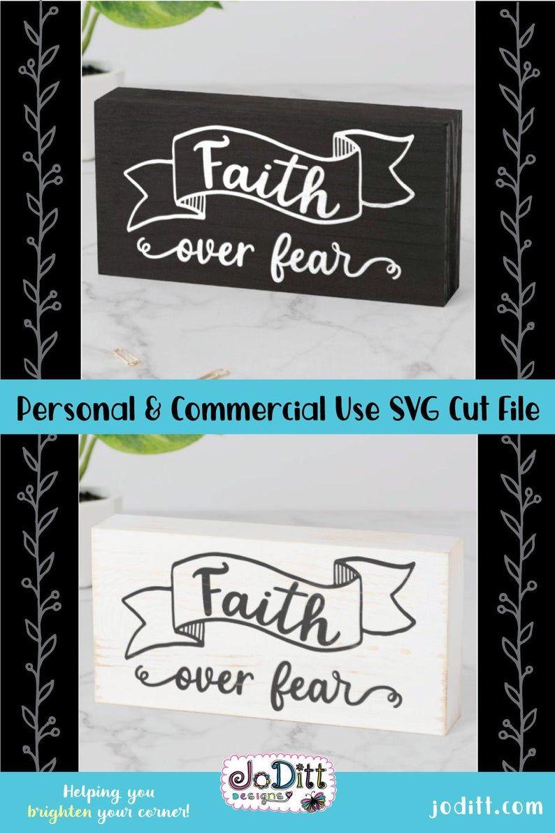 Download Faith Over Fear Svg File For Farmhouse Cricut Faith Cross Svg For Diy Projects In 2020 Christian Svg Cross Svg Faith Svg