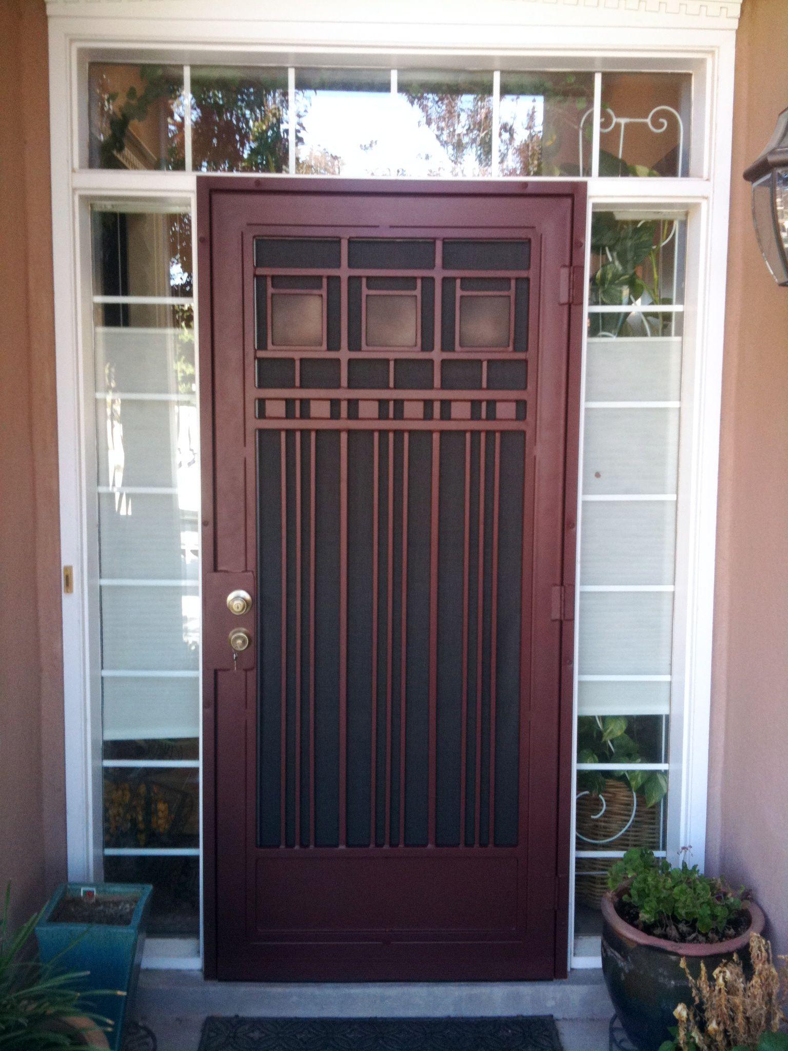 Security Doors Albuquerque Google Search Security Door Wrought Iron Security Doors Iron Security Doors