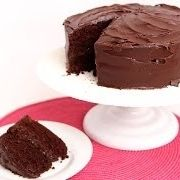 Devil\'s Food Cake Recipe - Laura in the Kitchen - Internet Cooking ...