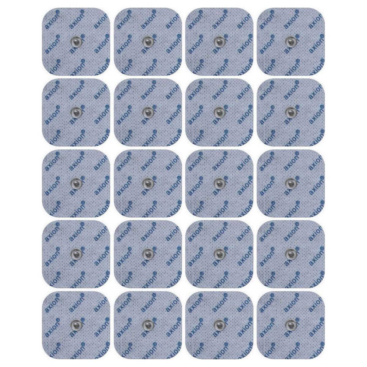 Electrodos TENS Beurer compatibles, 5x5 cm, 20 unidades Parches/Electrodos autoadhesivos Compatibles con los siguienteselectroestimuladoresTENS-EMS: Sanitas SEM 40,41,42,43,44, así como Beurer EM 40 / EM 41 /...