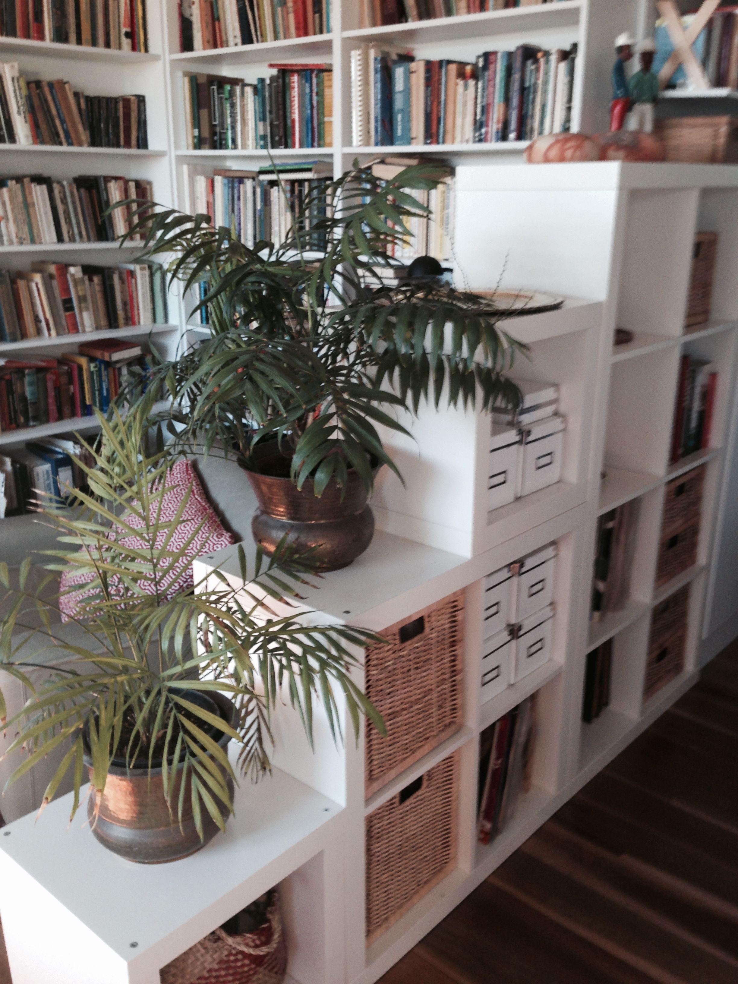 Expedit room divider in 2019 Ikea kallax bookshelf, Ikea