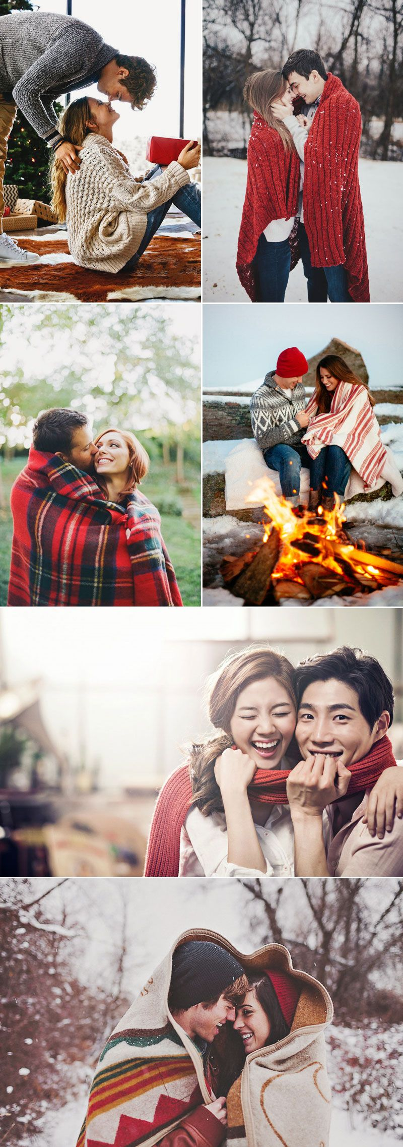 20 Cute Christmas Photo Ideas for Couples to Show Love