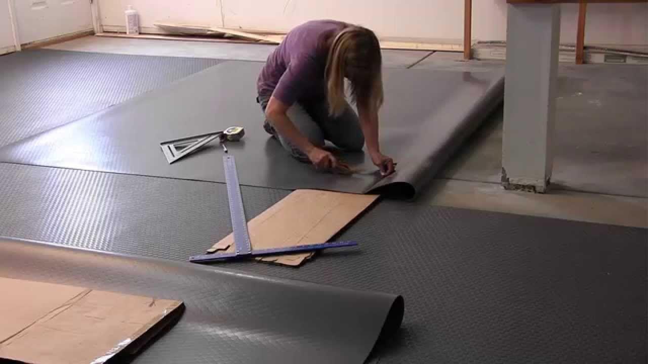 Blt G Floor Garage Floor Mats Install Video From Garage Flooring Llc Garageflooring Garageflo Vinyl Garage Flooring Garage Floor Mats Garage Flooring Options