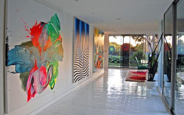 Oft Stellen Wir Uns Die Frage, Ob Die Moderne Abstrakte Kunst Einen Platz  In Unseren Wohnungen Hat. Gegenstandslose Wandbilder Kommunizieren Mit Uns  Durch