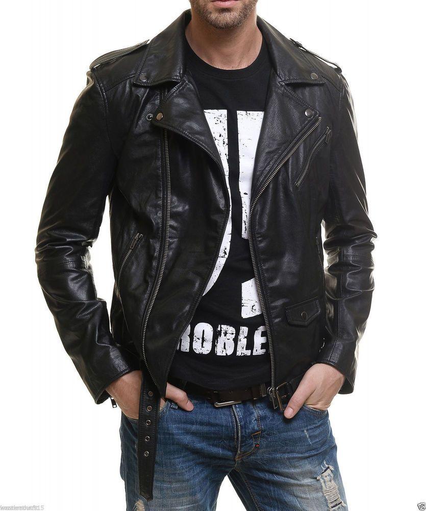 Men S Leather Jacket Handmade Black Motorcycle Solid Lambskin Leather Coat M45 Handmad Leather Jacket Men Mens Leather Bomber Jacket Black Leather Jacket Men [ 1000 x 835 Pixel ]
