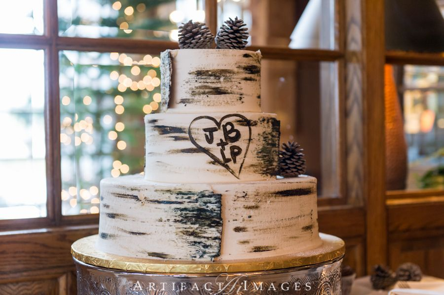 Wedding Cake At The Bedford Village Inn NH By Artifact Images
