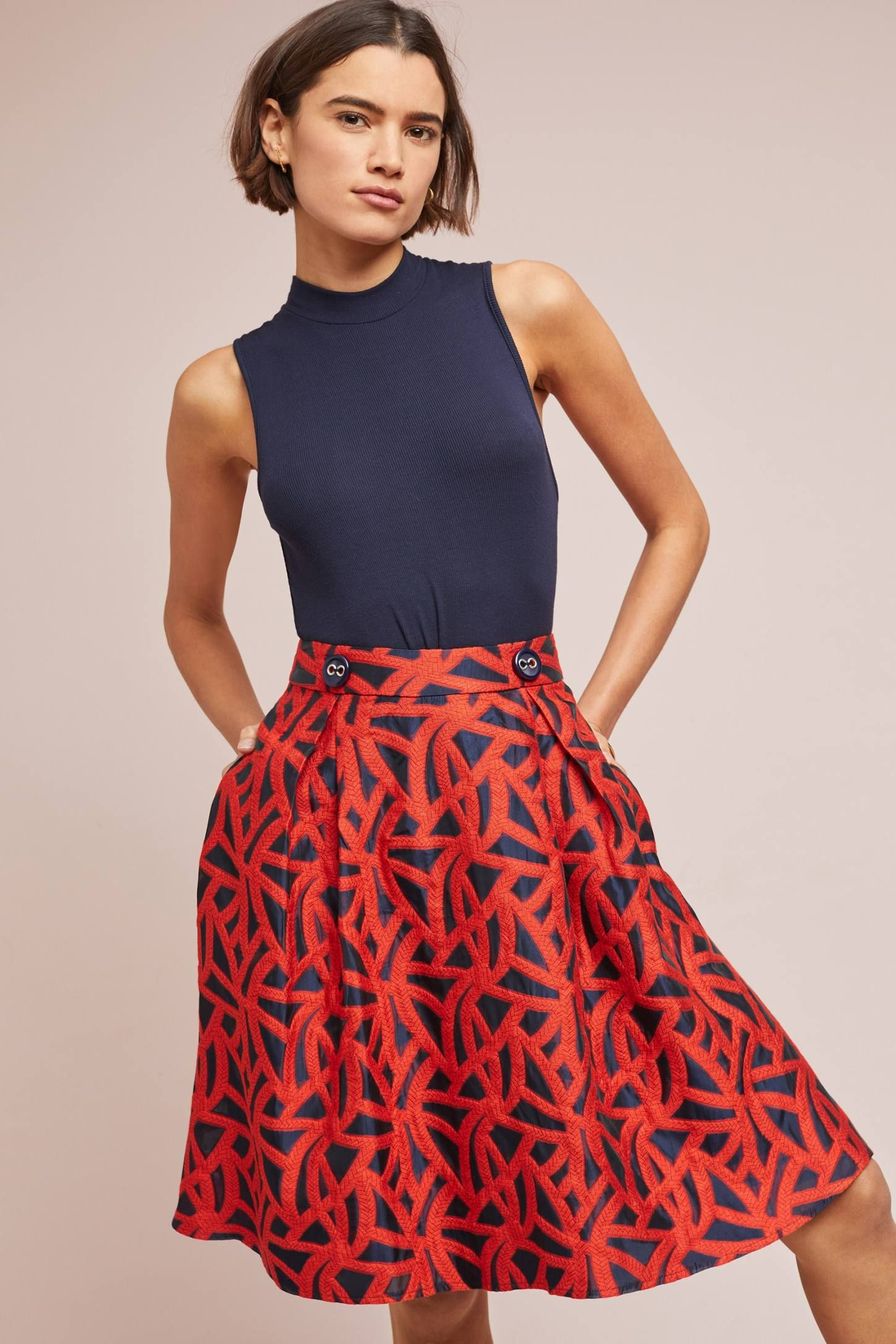f00db1267 Mariner Skirt in 2019 | What I want to wear | Eva franco, Skirts ...