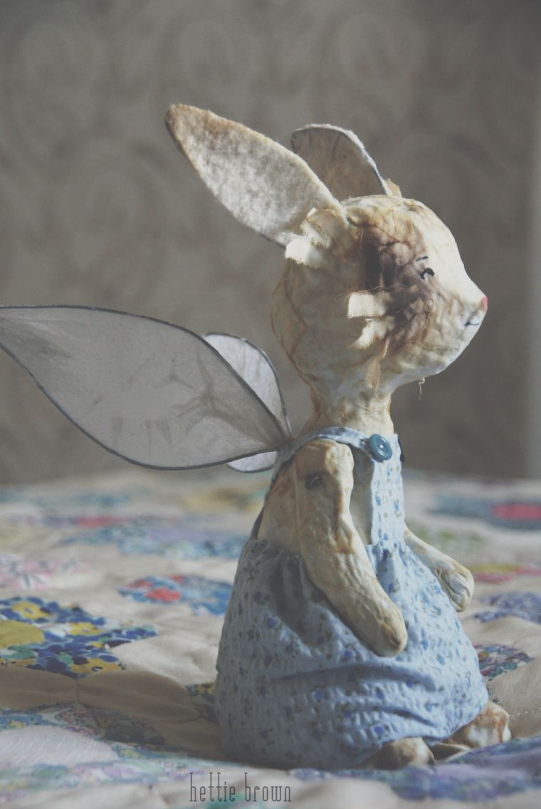little rabbit with wings by hettie brown | Just gorgeous ...
