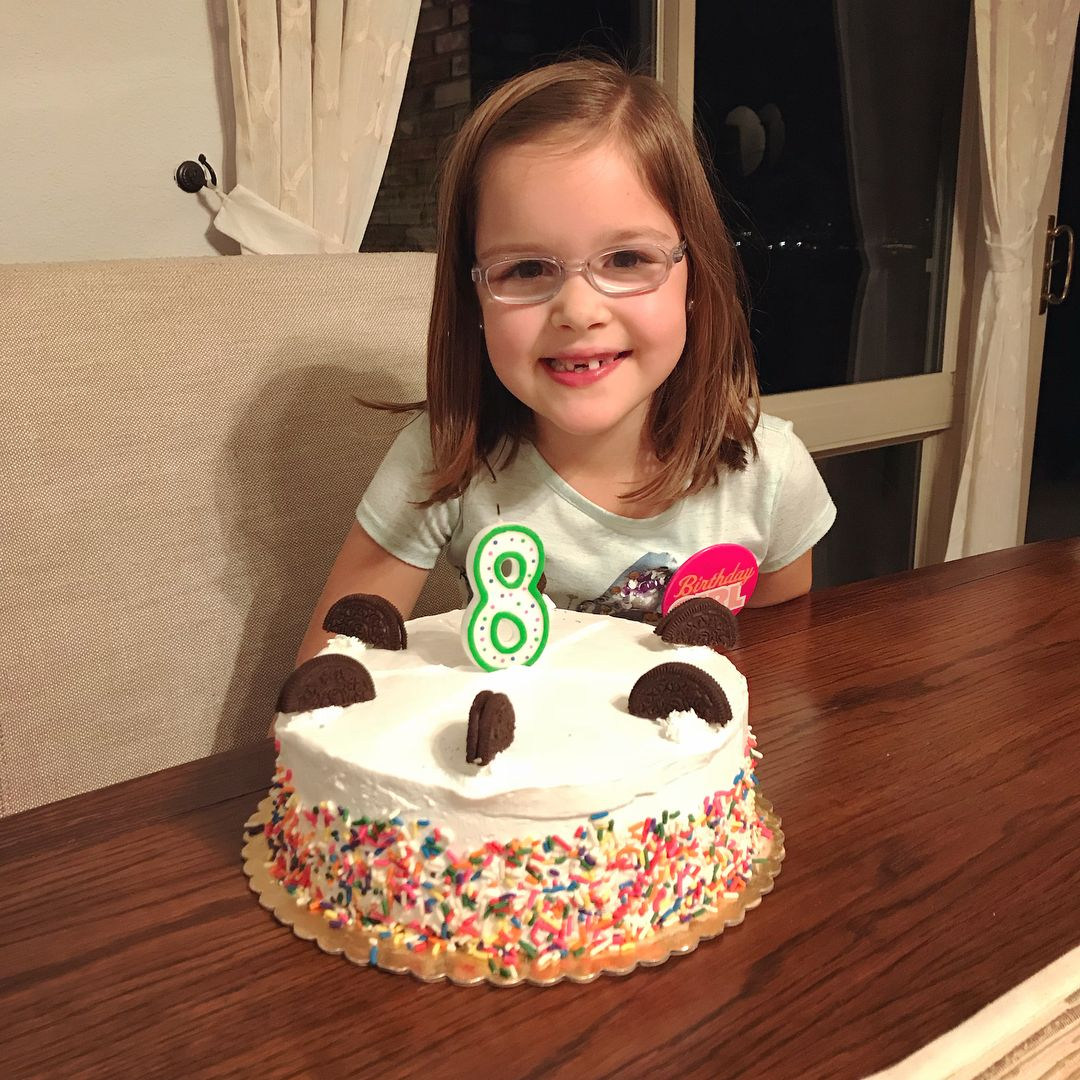 We Had A Fun Day Celebrating Elise And All Of Her Wonderfulness Honestly Several Things Didn T Go As We Had Pla J House Vlogs Mint Oreo Oreo Ice Cream Cake