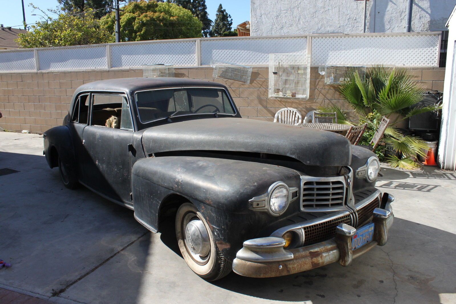 1946 lincoln continental project car for sale
