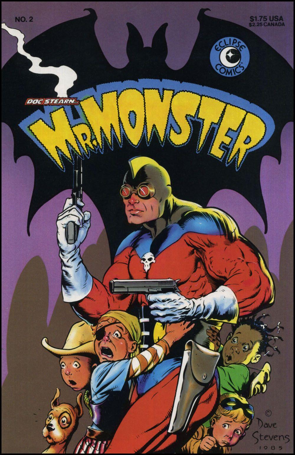 Mr. Monster - By Dave Stevens