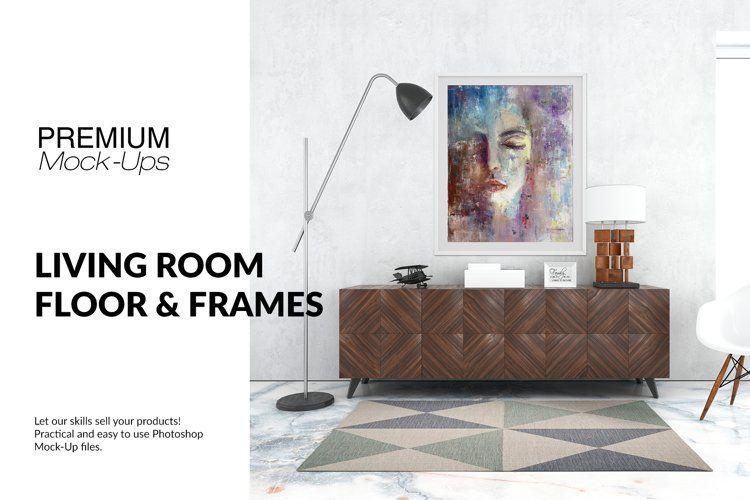Floor Frames Carpet In Living Room Set 271100 Scene Creators Design Bundles In 2021 Mockup Free Psd Floor Framing Living Room Carpet