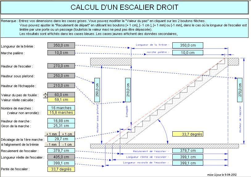 Norme hauteur marche escalier escalier helicoidal for Calcul escalier helicoidal