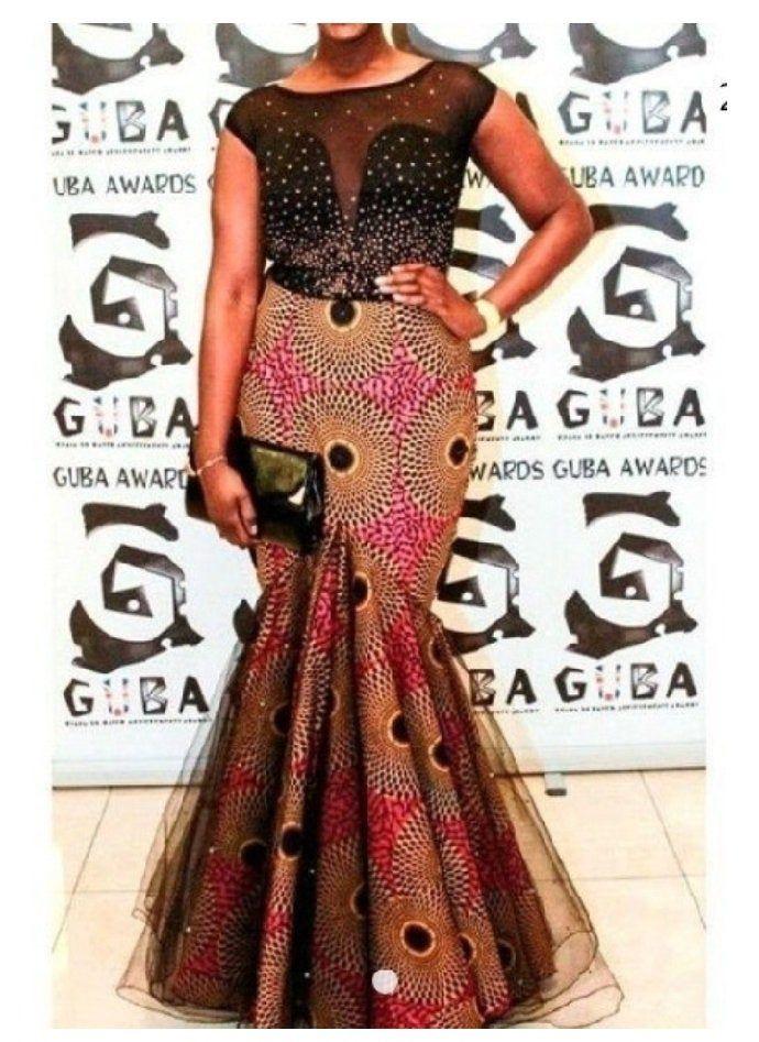 African prom dress, African mermaid dress, African occasion dress, African wedding dress,Ankara dress #africanfashionankara