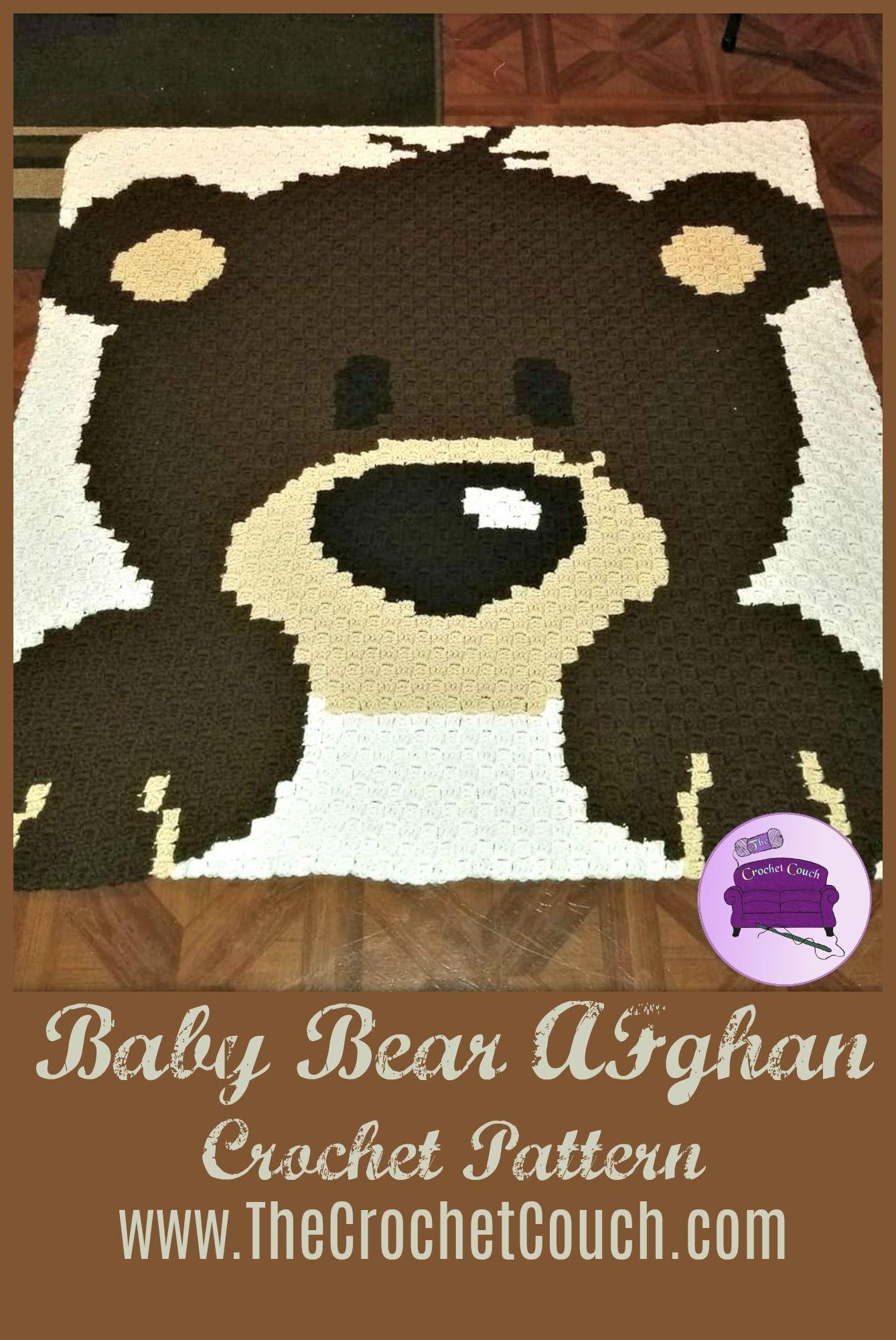 Baby Graphgan Pattern Corner to Corner C2C Crochet | Etsy | 2000x1338