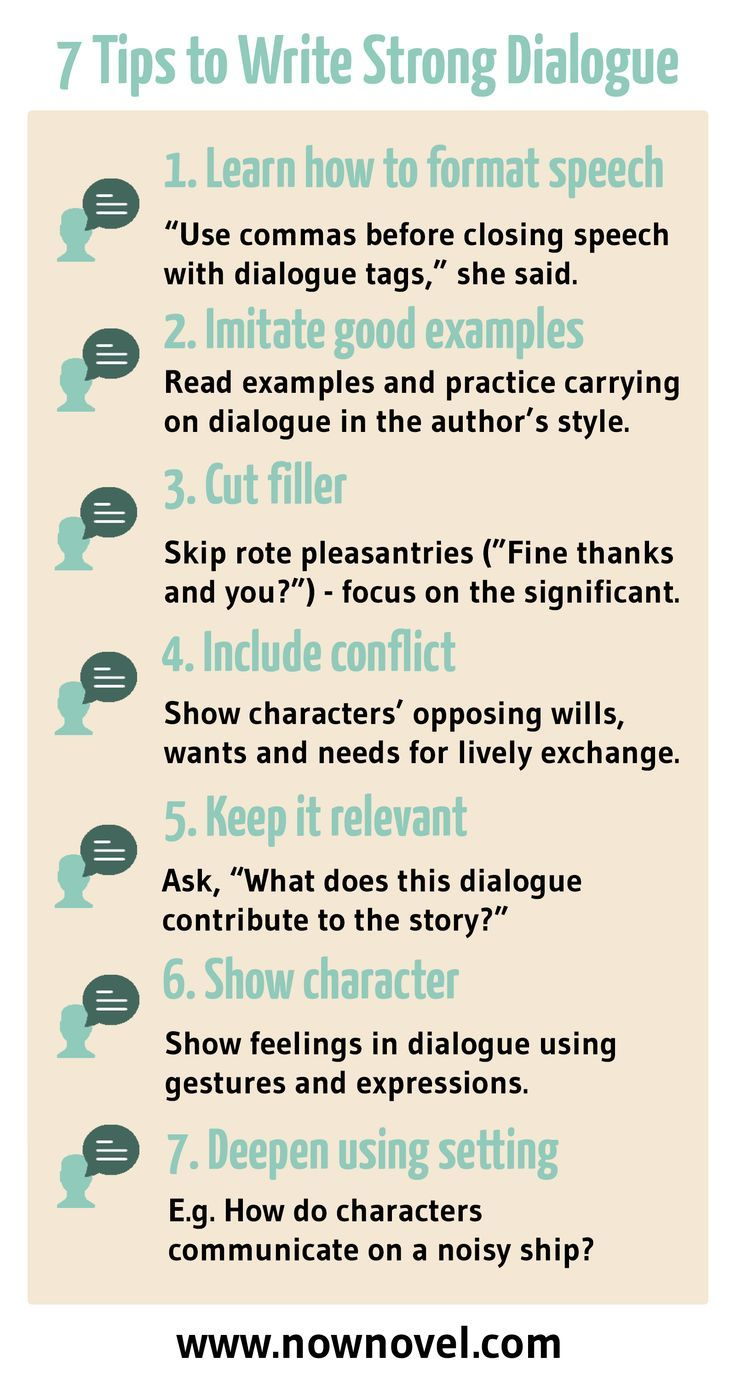 How to Write Dialogue: 7 Steps for Great Conversation