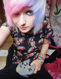 Games Videogames Gamers Game Httpshopharcoslabscomgamers - Emo girl hairstyle video