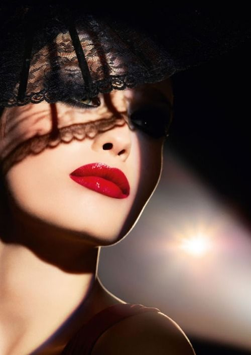 Masq Club Mask Makeup Perfect Red Lips Face Beautiful Lips