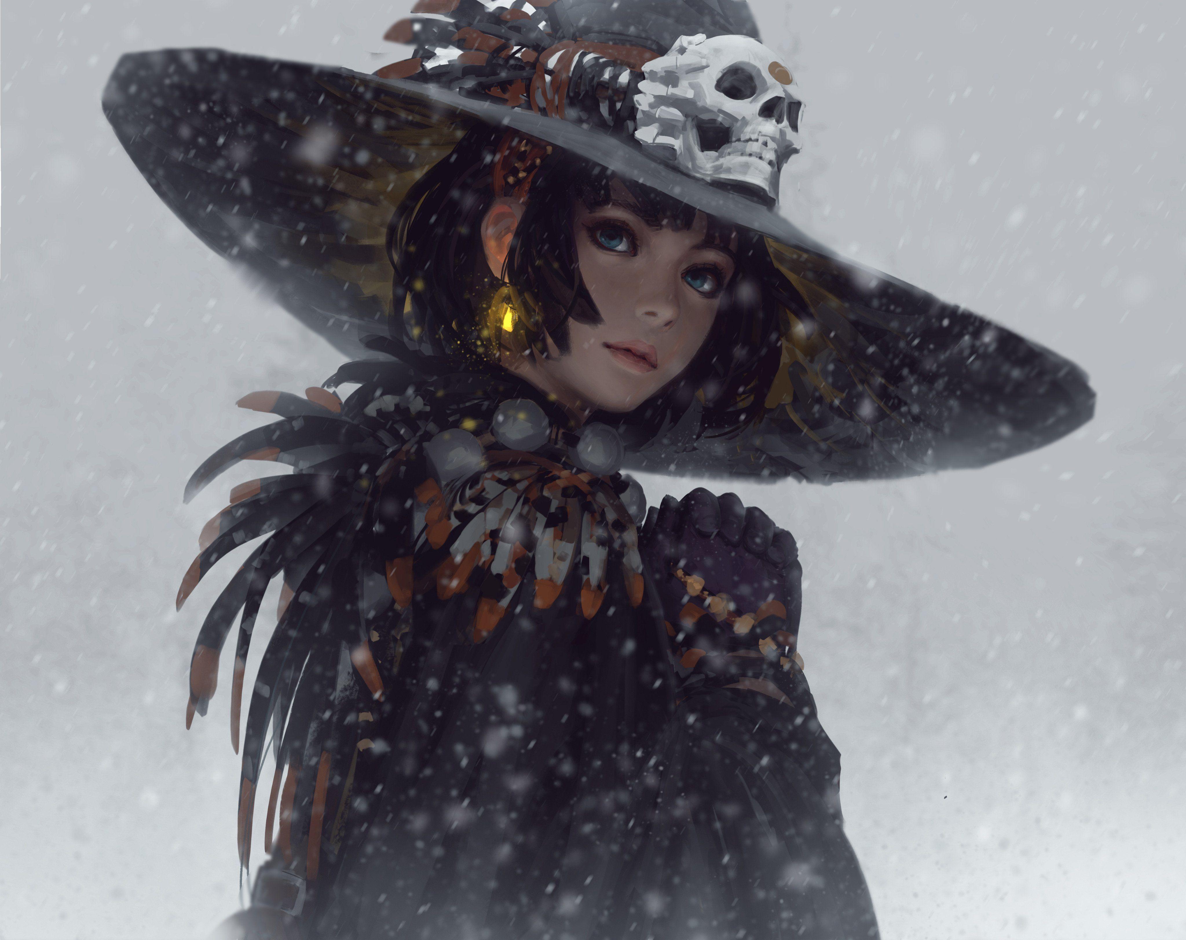 GUWEIZ on Fantasy art, Art, Character art