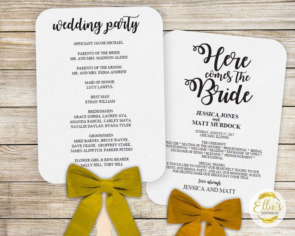 Pin by ellie roberts on wedding fan programs pinterest fans