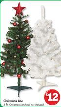 Family Dollar Christmas Trees.4 Ft White Christmas Tree From Family Dollar 12 00