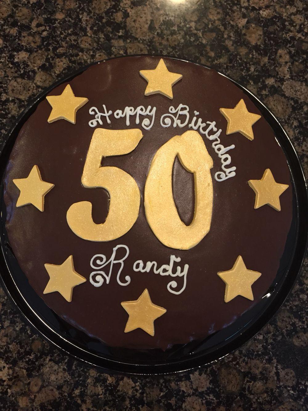 50 Birthday Cake Boston Cream Pie