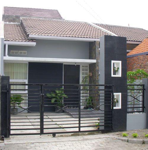 Rumah Minimalis Type 36 Model Rumah Terbaru Fachadas Pinterest