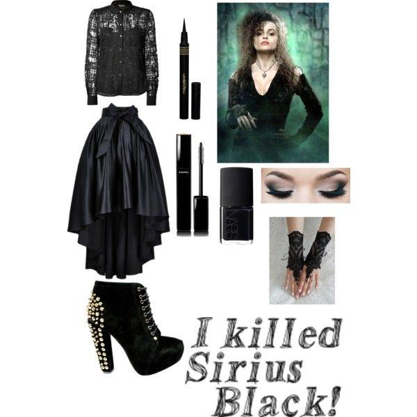 Bellatrix Lestrange DIY costume
