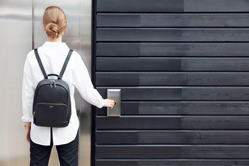 56cf75dd467 Leather Mini Backpack - 10