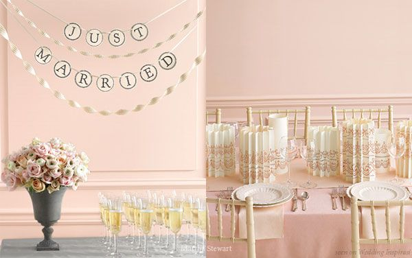 Clic Pale Pink Wedding Theme