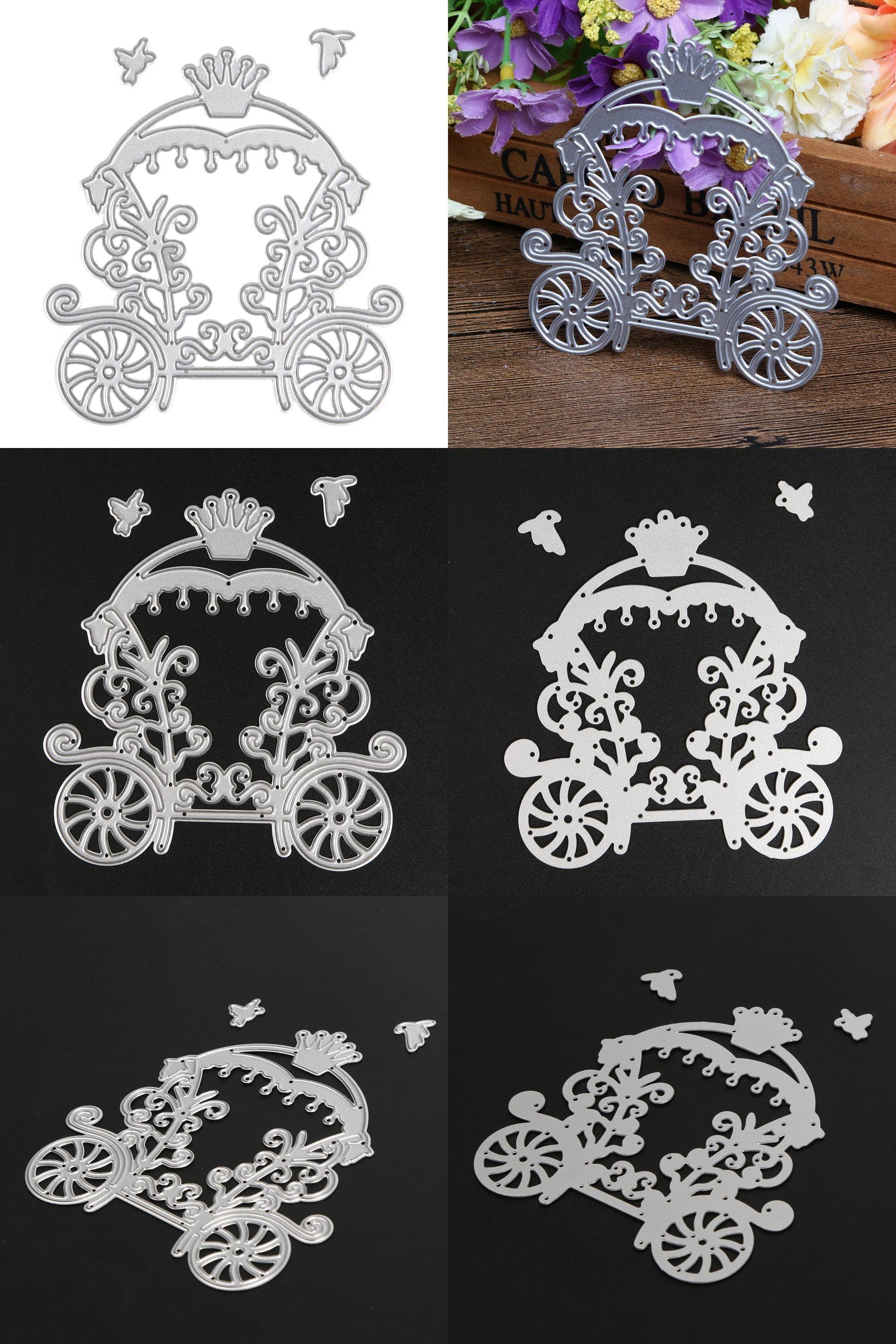 Vintage Metal Cutting Dies Stencils for DIY Embossing Paper Craft Decoration