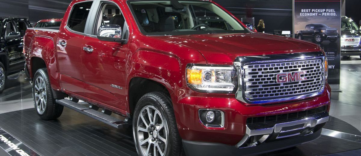2017 Gmc Canyon Denali Price Release Date Colors Diesel Gmc