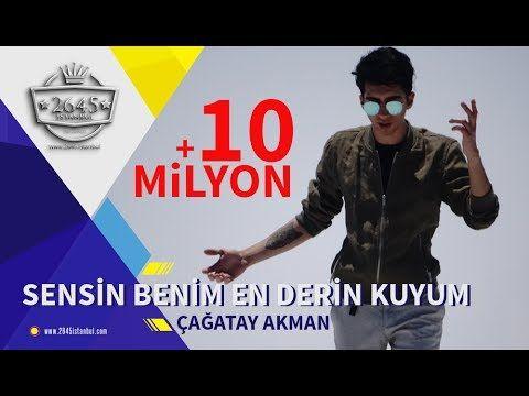 Cagatay Akman Sensin Benim En Derin Kuyum Official Video Youtube Sarkilar Youtube Muzik