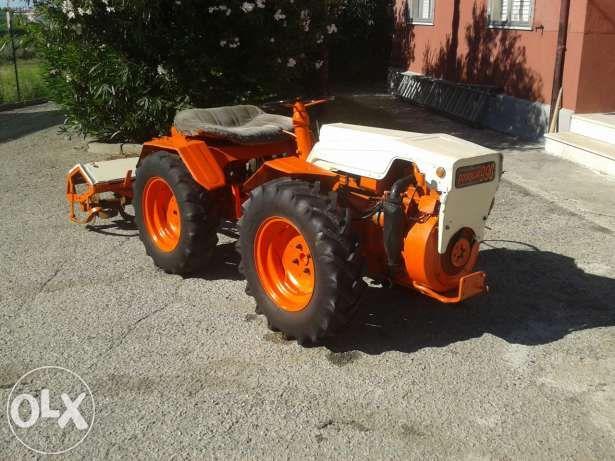 Tractor Pasquali 4x4 Tractoras Articulat Freza Plug Tecuci Olx