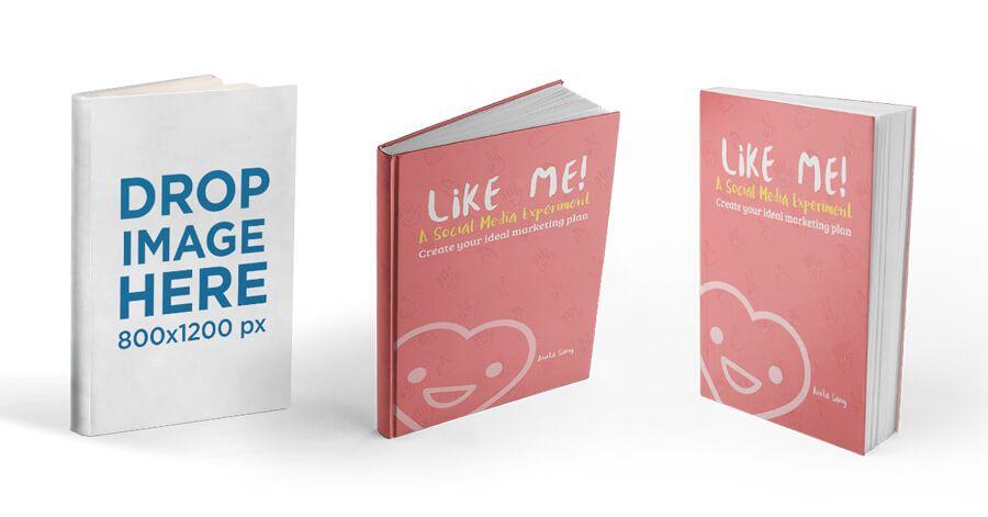 3d Book Mockup Generator Book Design Mockup Generator Books