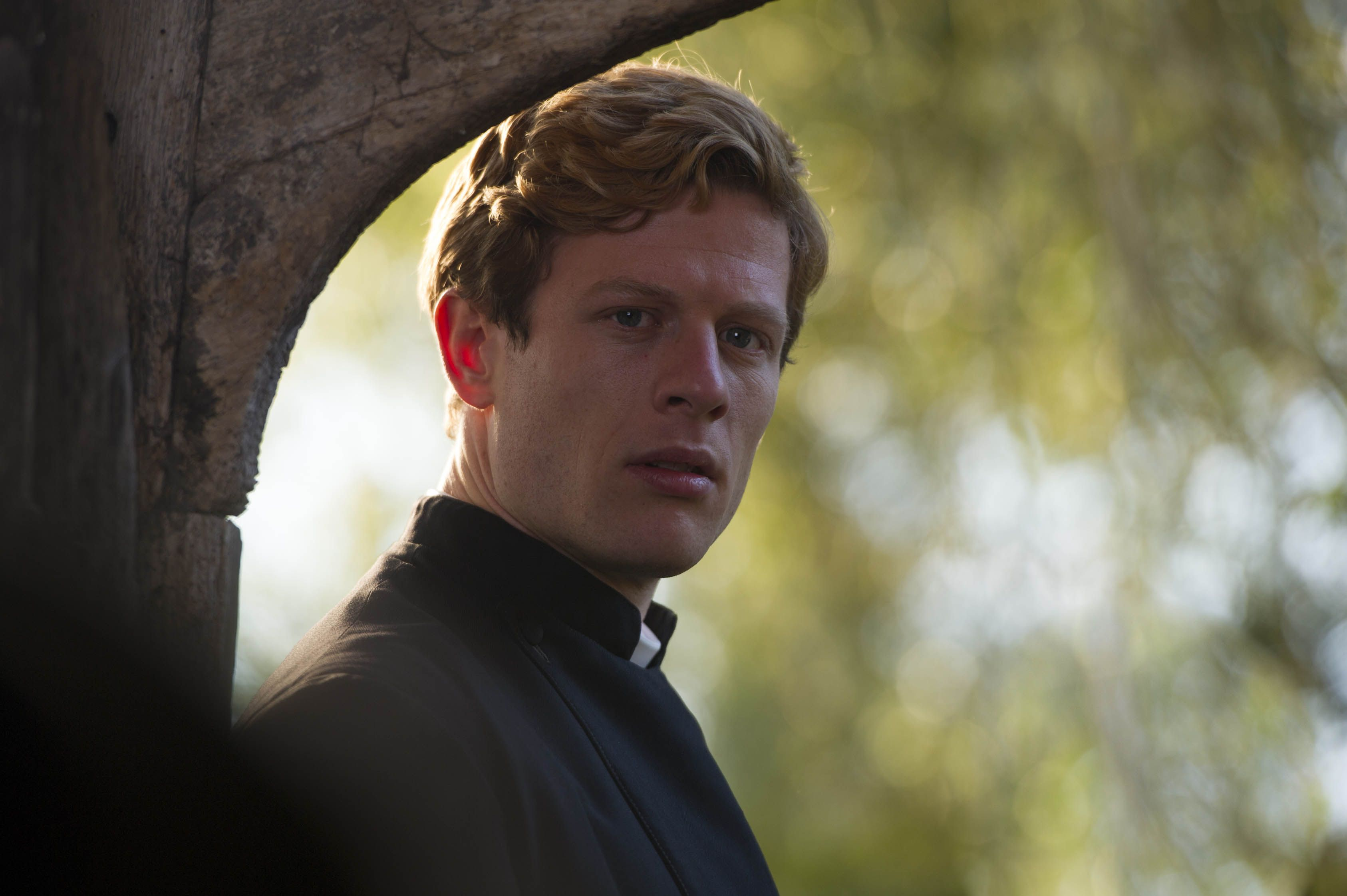 A running vicar detective is presented by Masterpiece in 'Grantchester'