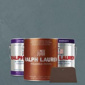 Ralph Lauren, 1-gal. Old Sapphires Pewter Polished Patina Interior Specialty Paint Kit, PP114-01K at The Home Depot - Mobile