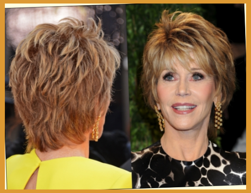 Jane Fonda Short Haircuts