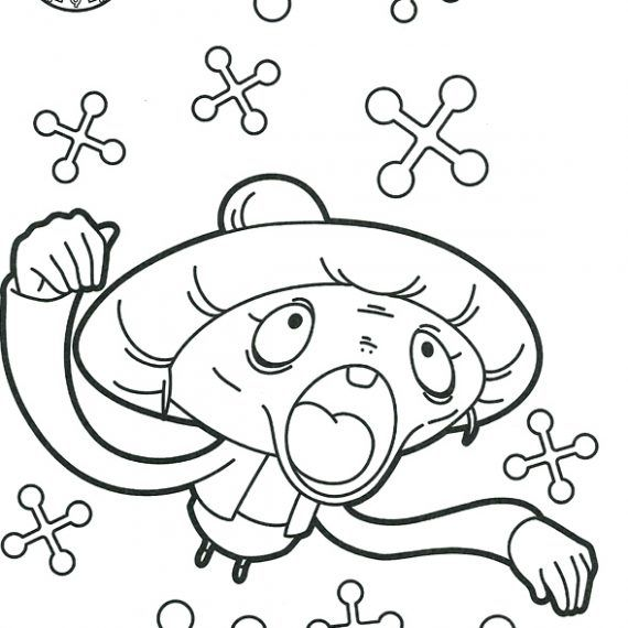 Yokai Watch Coloriage209 Yo Kai Watch Anime Charlie Brown Kai