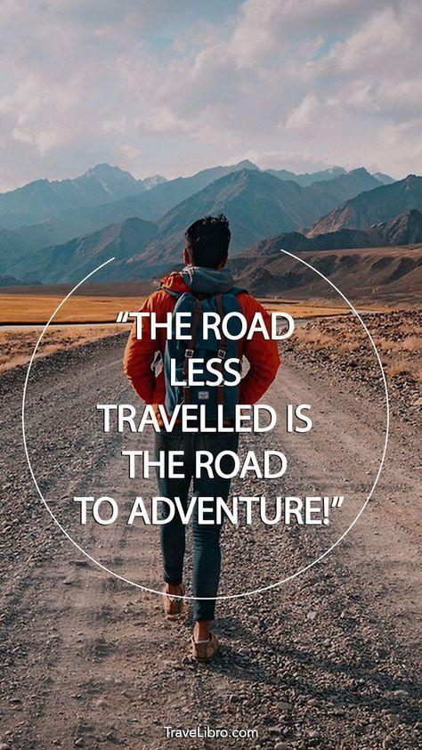 Quotes Travel Adventure Nature Wilderness 15+ Ideas