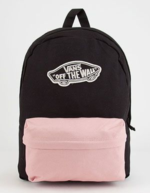VANS 2 Tone Realm Backpack Pink | Fashion in 2019 | Vans backpack ...