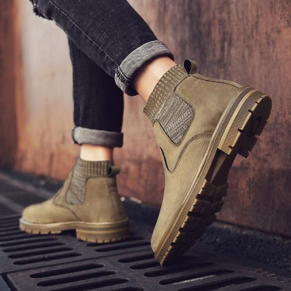e4a9f034a 2019 New Men Boots High Quality Genuine Leather Winter Boots High ...