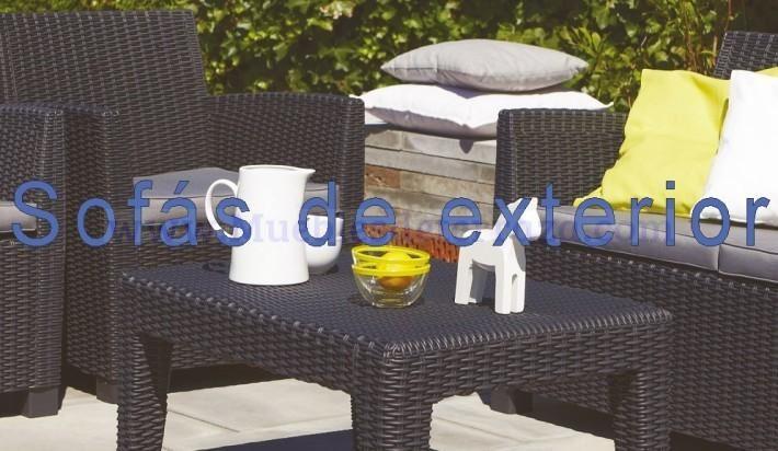 Muebles de jardin y terraza en resina muebles de jard n for Set de resina de jardin trenzado barato