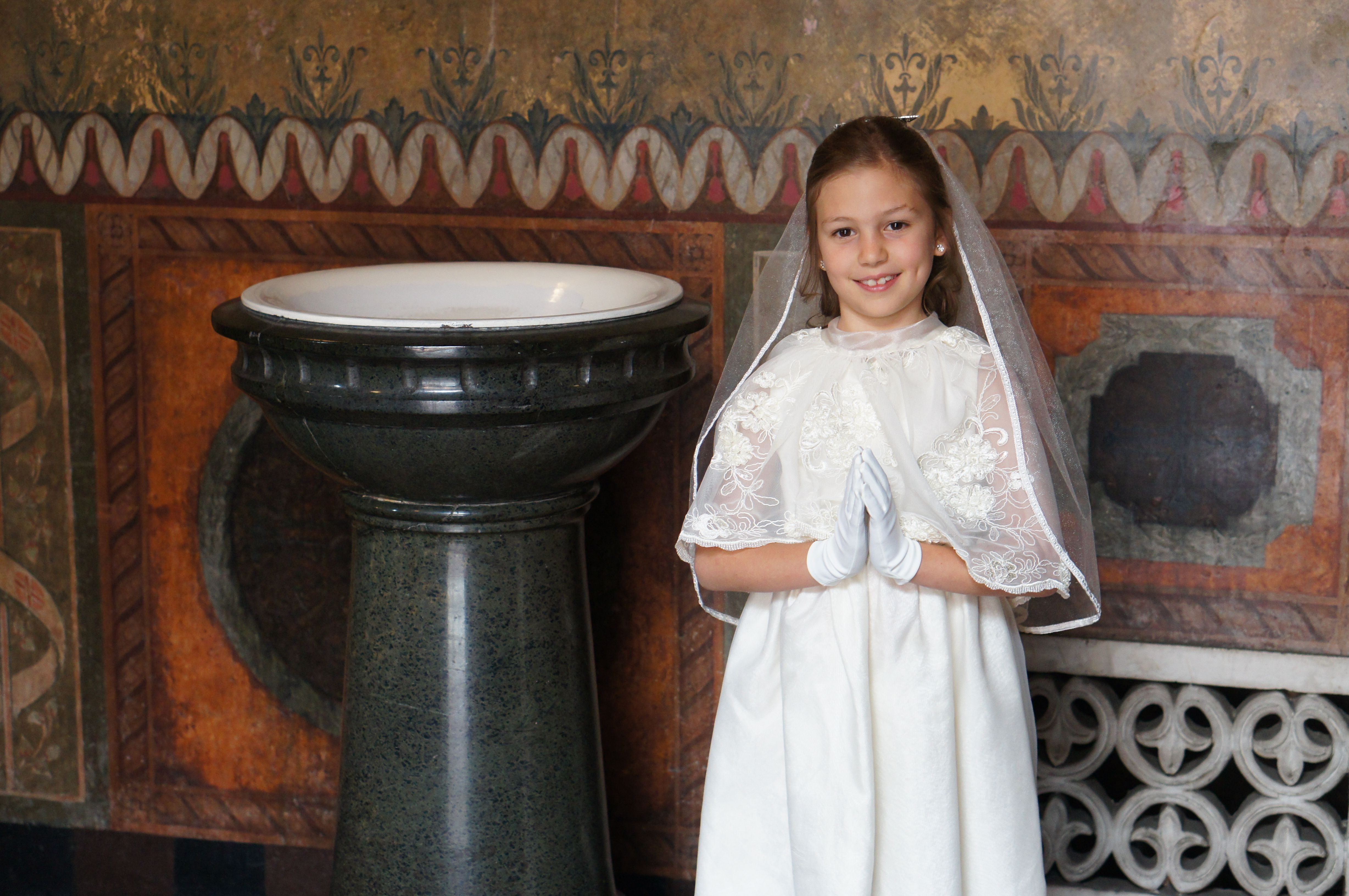 First Communion preparing your child at home California