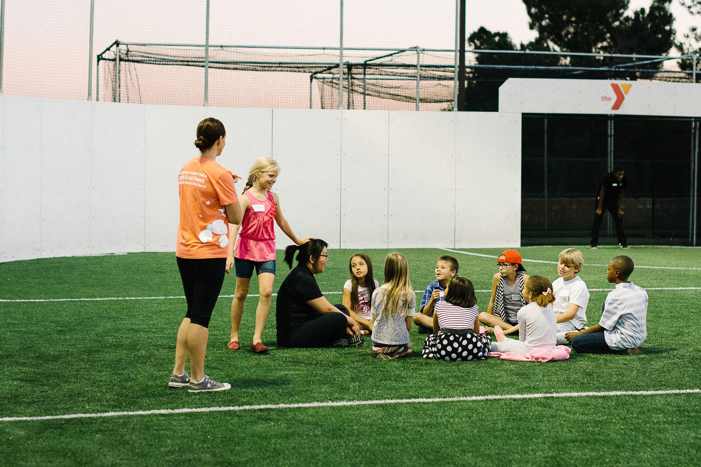 Single Moms Event With Air 1 Radio At The Fullerton Ymca Ymcaoc Ymcaocfn Fullerton Ymca Soccer Field Fullerton