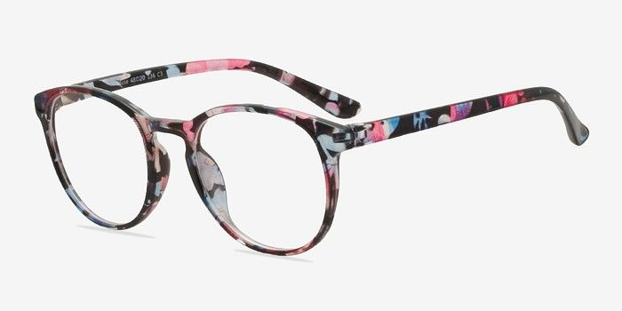 9b3b6586ae1 Muse Pink Floral Plastic Eyeglasses from EyeBuyDirect. Come and discover  these quality glasses at an affordable price. Find your style now with this  frame.