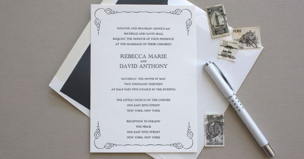 Delphine » Letterpress Calligraphic