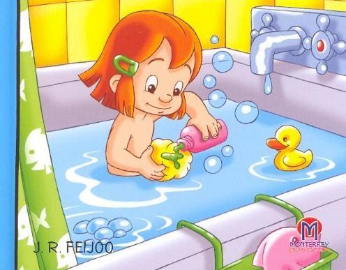 Dibujo De Nino Banandose Buscar Con Google Ed Infantil Educacao Infantil Criancas